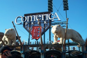 Take Me Out to the Ballgame – A Trip to Comerica Park in 2015